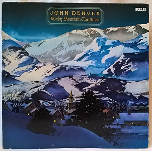 John Denver ‎ (Rocky Mountain Christmas) 1975. (LP). 12. Vinyl. Пластинка. Germany.