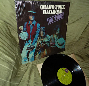 Grand Funk Railroad ON TIME 1969 Capitol US ST - 307 shrink NM / ~ NM