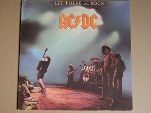AC/DC – Let There Be Rock (Atlantic ‎– ATL 50 366, Italy) EX+/NM-
