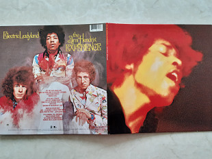 JIMI HENDRIX EXPERIENCE ELECTRIC LADYLAND 2 LP ( LEGACY 88697 62398 1 ) G/F with Giga Booklet