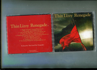 "Продаю CD Thin Lizzy ""Renegade"" – 1981"