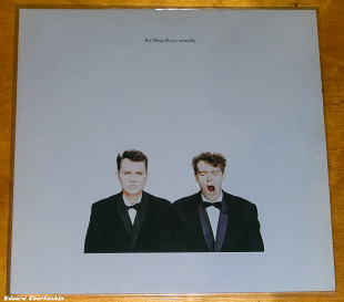 PET SHOP BOYS Actually 1987 Holl Parlophone NM-\EX(+) Sticker