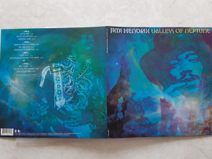 JIMI HENDRIX VALLEYS OF NEPTUNE 2 LP ( SONY / LEGACY 88697 64059 1 ) G/F with Giga Booklet 2010