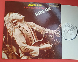 ALVIN LEE - Ride on 1979 / RSO ‎– RS-1-3049 , Promo, usa
