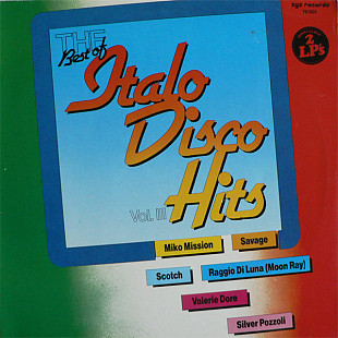 V/A - The Best Of Italo-Disco Hits Vol. 3 (1985) (2xLP) NM-/NM-/NM-