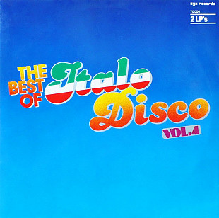 V/A - The Best Of Italo-Disco Vol. 4 (1985) NM-/NM-/NM-