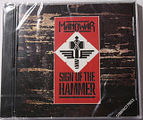 Manowar ‎– Sign Of The Hammer фирменный CD