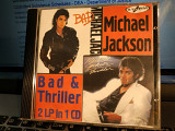 MICHAEL JACKSON''BAD/TRILLEL, 2 LP-1 ''CD