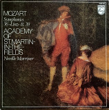 Mozart - Academy Of St. Martin-in-the-Fields, Neville Marriner – Symphonies 36 «Linz» & 39