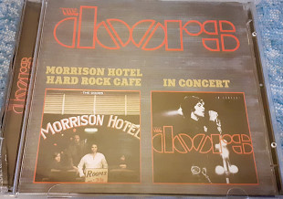 Аудио CD диск The Doors ‎– Morrison Hotel/Hard Rock Cafe / In Concert
