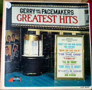 Gerry And The Pacemakers-Greatest Hits 1965 (US 1st Press) [NM / NM-] (Capitol Record Club Еdition)