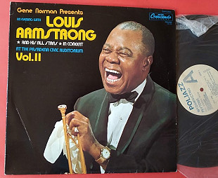 Louis Armstrong ‎– In Concert At The Pasadena Civic Auditorium Vol. II , GNP-9050 , PolJazz