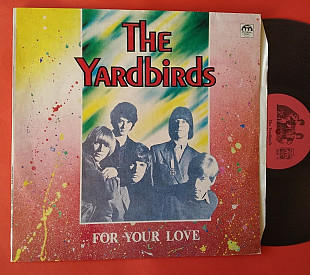 The Yardbirds ‎– For Your Love / Russian Disc ‎– R60 01387