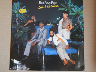 Bad Boys Blue ‎– Love Is No Crime (Coconut ‎– 208 670, Germany) insert NM-/NM-