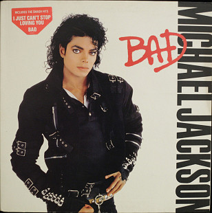 Michael Jackson ‎– Bad 1987 EX+/VG+