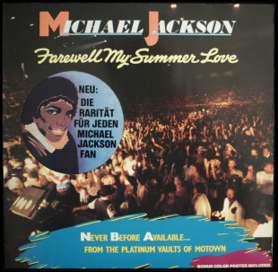Michael Jackson - Farewell My Summer Love (LP) 1984 EX+/EX+