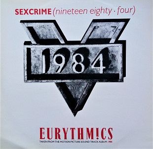 Eurythmics 1984 Single 45RPM
