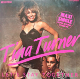 Tina Turner Let's Stay Together Maxi Single 45RPM