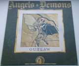 Angels & Demons ‎– Outlaw 1991 ( Hard Rock) EX+/EX+