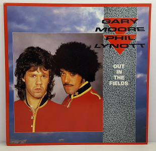 "Gary Moore And Phil Lynott – Out In The Fields MS 12"" 45RPM (Прайс 32310)"