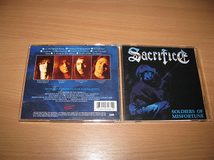 SACRIFICE - Soldiers Of Misfortune (1991 Metal Blade USA)