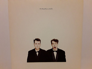 "Pet Shop Boys ""Actually"" 1987 г"