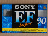 Кассета SONY EF Super 90 (1995 год выпуска)