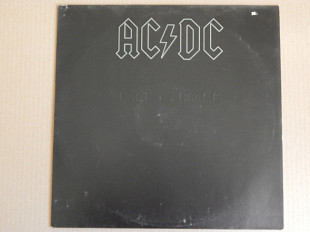 AC/DC ‎– Back In Black (Atlantic ‎– ATL 50 735, Germany) insert EX+/NM-