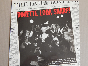 Roxette ‎– Look Sharp! (Parlophone ‎– 064-79 1098 1, Germany) insert NM-/NM-