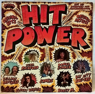 V.A. Boney M, Smokie, Donna Summer - Hit Power- 1976. (LP). 12. Vinyl. Пластинка. Germany.