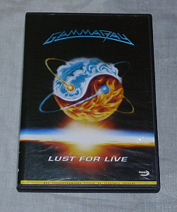 DVD Gamma Ray - Lust For Live