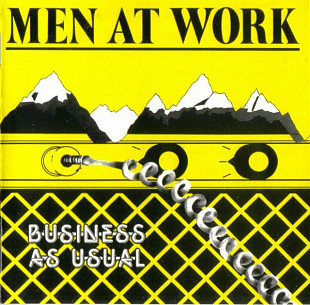 Фирма Men At Work ‎– Business As Usual