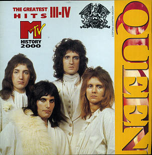 Queen ‎– MTV Music History: The Greatest Hits III-IV (2CD)