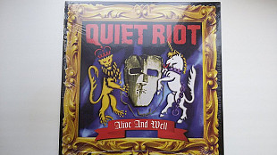 Quiet Riot «Alive and Well» 1999 (Germany) (Новый запечатан)
