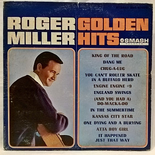Roger Miller (Golden Hits) 1965. (LP). 12. Vinyl. Пластинка. U.S.A.