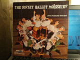 THE RUSSIAN BALLET GROUP ''MOISSEIEV''10'' LP