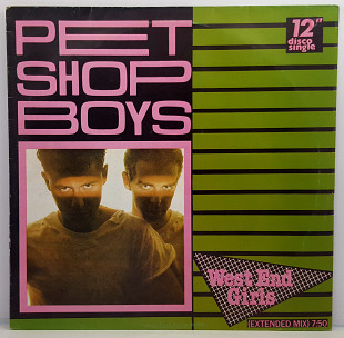"Pet Shop Boys – West End Girls MS 12"" 45RPM(Прайс32446)"