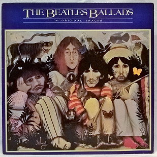 The Beatles - The Beatles Ballads (20 Original Tracks) 1963-70. Пластинка. England