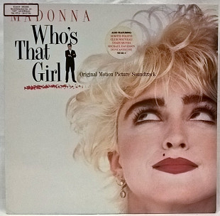 Madonna (Who's That Girl. Original Motion Picture Soundtrack) 1987. (LP). 12. Vinyl. Пластинка. Germ