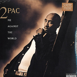 2Pac ‎ (Me Against The World) 1995. (2LP). 12. Vinyl. Пластинки. Europe. S/S. Запечатанное