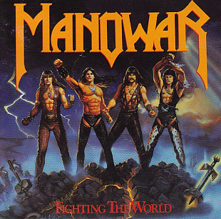 Manowar 1987 - Fighting The World (Германия, фирма)