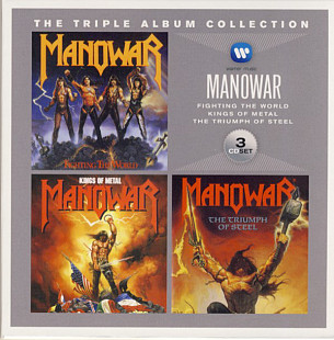 MANOWAR The Triple Album Collection 3CD