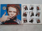 SIMPLY RED MEN AND WOMEN ( WEA 242071-1 / for UK WX85 ) 1987 GER