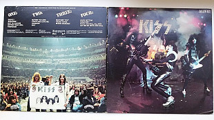 Kiss «Alive!» 1975 2-LP (USA)
